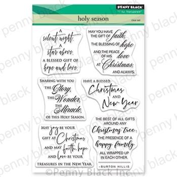 Penny Black Clear Stamps HOLY SEASON 30-648