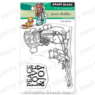 Penny Black Clear Stamps SWEET SLEDDER 30-647 Preview Image