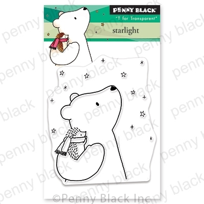 Penny Black Clear Stamps STARLIGHT 30-646 Preview Image
