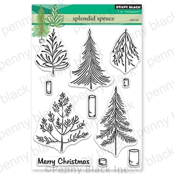 Penny Black Clear Stamps SPLENDID SPRUCE 30-639