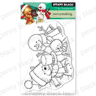 Penny Black Clear Stamps MERRYMAKING 30-638 zoom image
