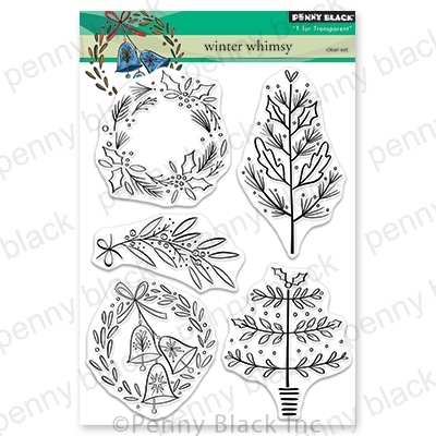 Penny Black Clear Stamps WINTER WHIMSY 30-635* zoom image