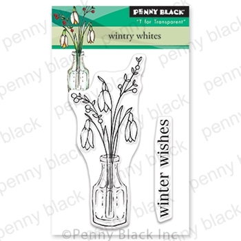 Penny Black Clear Stamps WINTRY WHITES 30-634