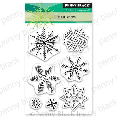 Penny Black Clear Stamps FIRST SNOW 30-631 zoom image