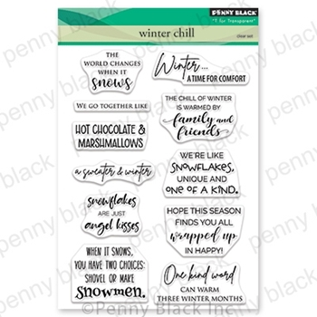 Penny Black Clear Stamps WINTER CHILL 30-627