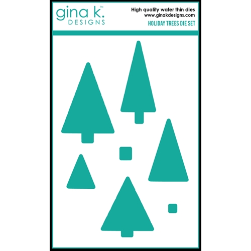 Gina K Designs HOLIDAY TREES Die Set 0423 Preview Image