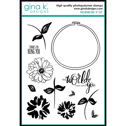 Gina K Designs YOU BEING YOU Clear Stamps 0497 Preview Image