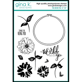 Gina K Designs YOU BEING YOU Clear Stamps 0497
