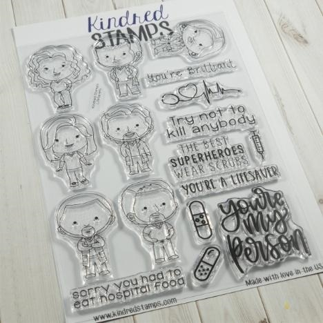 Kindred Stamps LIFESAVERS Clear Stamps 46444348 Preview Image
