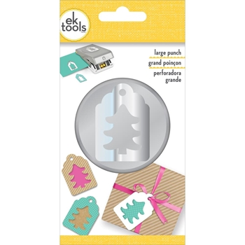 EK Success TREE TAG Large Punch 54-30373