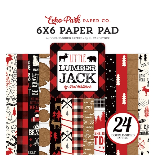 Echo Park LITTLE LUMBERJACK 6 x 6 Paper Pad ll195023 Preview Image
