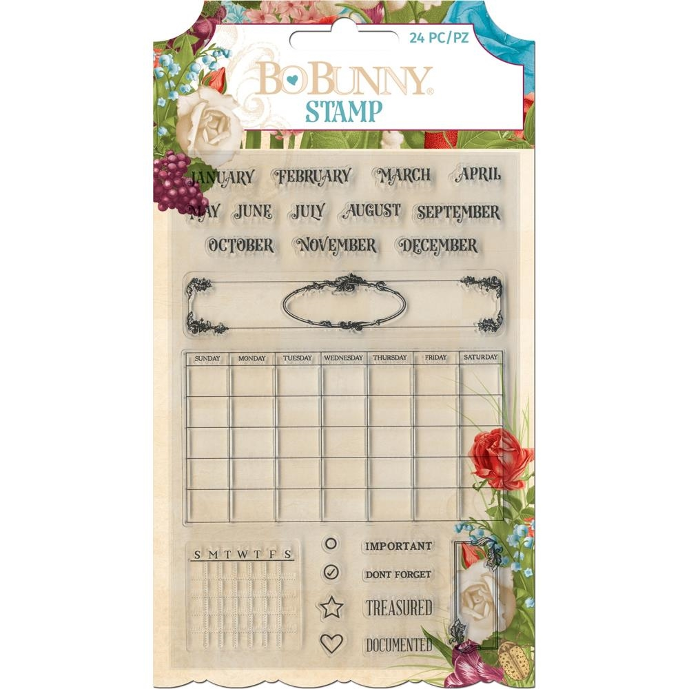 BoBunny TIME AND PLACE Clear Stamp Set 7310974 zoom image