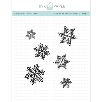 Ink to Paper SPLENDID SNOWFLAKES Clear Stamps 1111