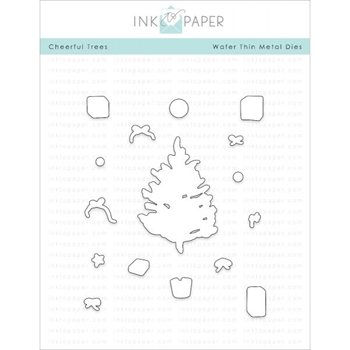 Ink to Paper CHEERFUL TREE Dies ITP50
