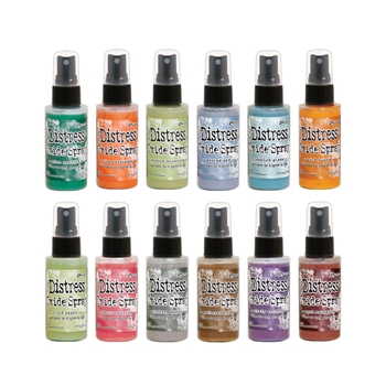 Tim Holtz Distress OXIDE SPRAY SET OF 12 Ranger ranger125