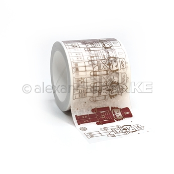Alexandra Renke NUTCRACKER OUTLINE Washi Tape wtarw0040