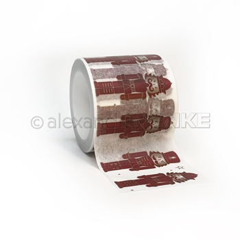Alexandra Renke NUTCRACKER RED Washi Tape wtarw0043