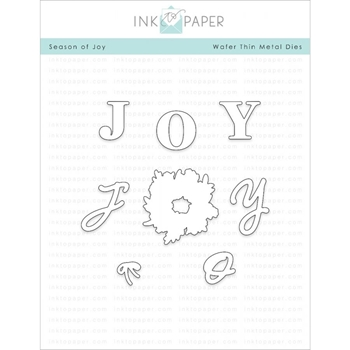 Ink to Paper SEASONS OF JOY Dies ITP51