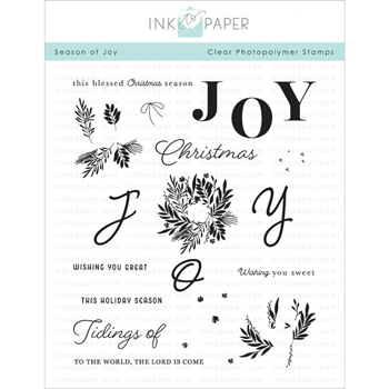 Ink to Paper SEASON OF JOY Clear Stamps 1109