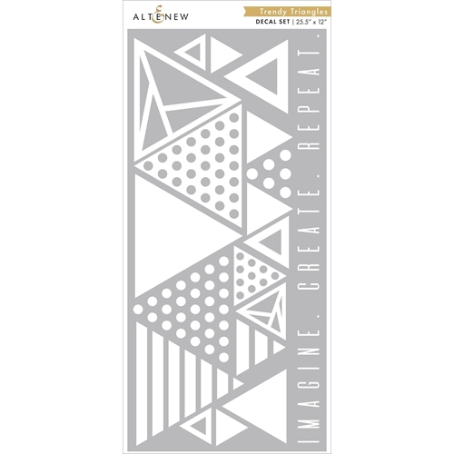 Altenew TRENDY TRIANGLES Decal Set ALT3708 Preview Image
