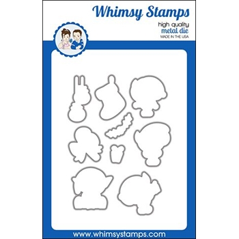 Whimsy Stamps ELF SIZED Dies WSD433