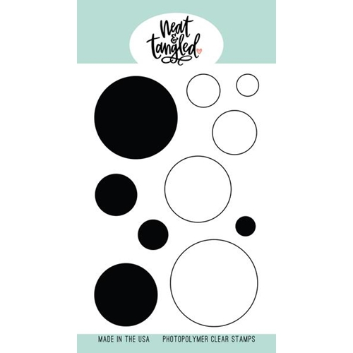 Neat and Tangled CIRCULAR Clear Stamps NAT489 Preview Image