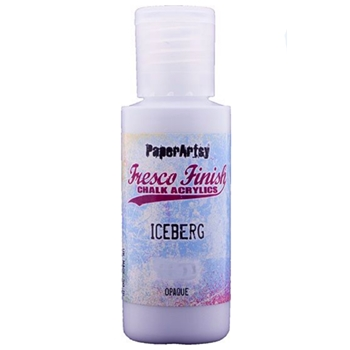 Paper Artsy Fresco Finish ICE BERG Chalk Acrylic Paint 1.69oz ff165
