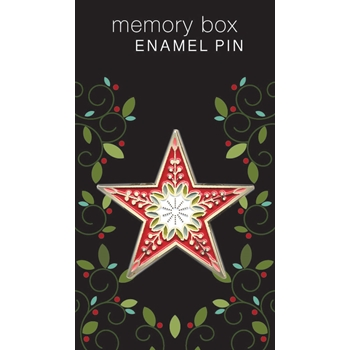 Memory Box CHANDELE STAR Enamel Pin ep761
