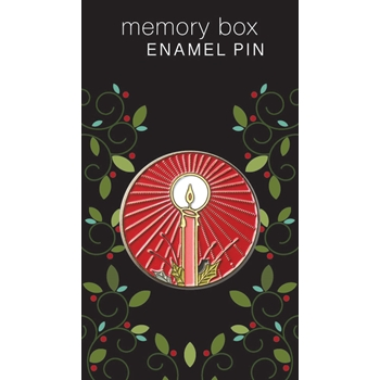 Memory Box BRILLIANT CANDLE Enamel Pin ep762