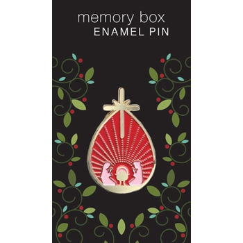 Memory Box DROP NATIVITY Enamel Pin ep764