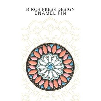 Birch Press Design KALEIDOSCOPE CIRLCE Enamel Pin ep901