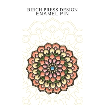 Birch Press Design CALEN CIRCLE Enamel Pin ep903