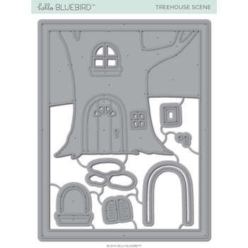 Hello Bluebird TREEHOUSE SCENE Die Set hb2233