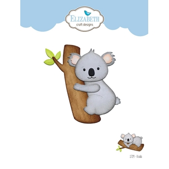 Elizabeth Craft Designs KOALA Craft Dies 1729