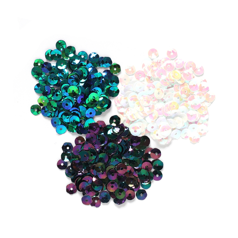 Darice PEARLESCENT Sequins 5mm 30054285 zoom image