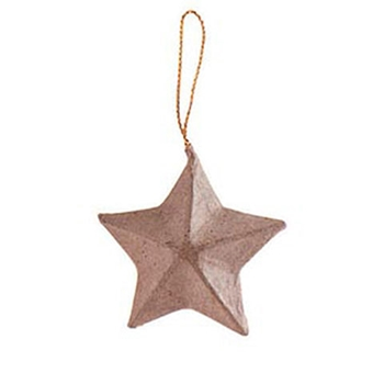 Darice PAPER MACHE STAR ORNAMENT 283360