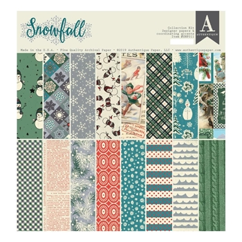 Authentique SNOWFALL 12 x 12 Collection Kit snf011
