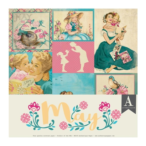 Authentique MAY 12 x 12 Paper Pack cal053 Preview Image