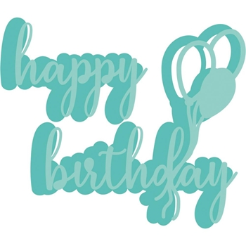 Kaisercraft HAPPY BIRTHDAY BALLOONS Decorative DIY Dies DD3349