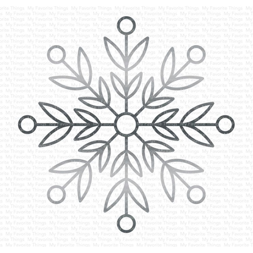My Favorite Things IMPRESSIVE SNOWFLAKE Die-Namics MFT1665 Preview Image