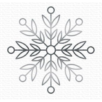 My Favorite Things IMPRESSIVE SNOWFLAKE Die-Namics MFT1665
