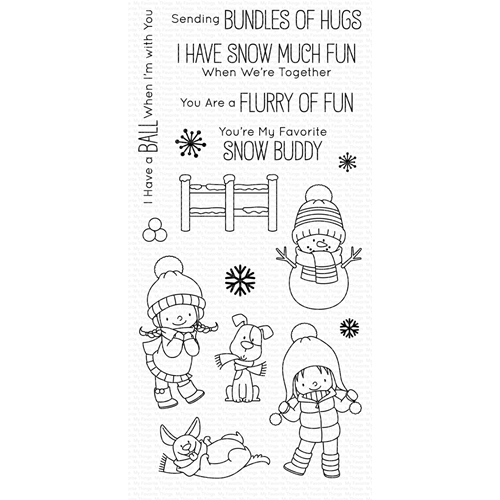 My Favorite Things SNOW BUDDIES Clear Stamps BB87 Preview Image