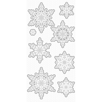 My Favorite Things SERENE SNOWFLAKES Die-Namics MFT1644