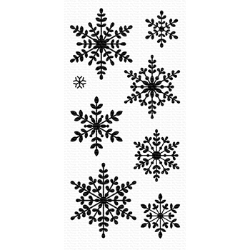 My Favorite Things SERENE SNOWFLAKES Clear Stamps CS435