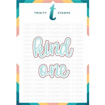 Trinity Stamps KIND ONE SENTI-MINI Die Set tmd-c18