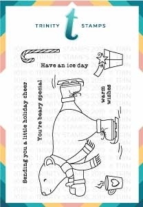 Trinity Stamps HAVE AN ICE DAY Clear Stamp Set tps-019 Preview Image
