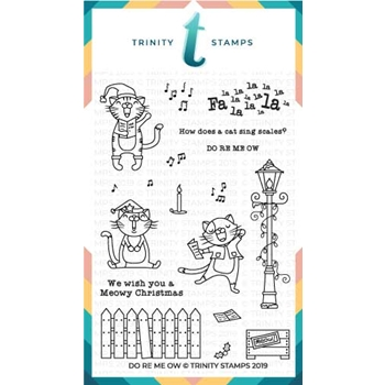 Trinity Stamps DO RE ME OW Clear Stamp Set tps-020