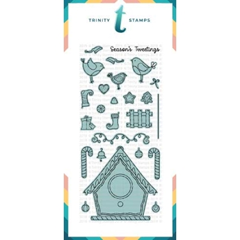 Trinity Stamps GINGERBIRD HOUSE Die Set tmd-c17