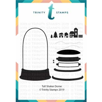 Trinity Stamps TALL SHAKER DOME Die Set tmd-005