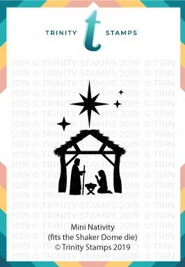 Trinity Stamps MINI NATIVITY Die Set tmd-006 Preview Image